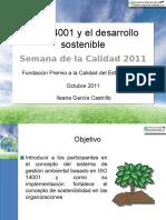 ISO 14001 y El Desarrollo Sostenible