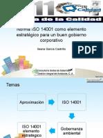 ISO 14001-Gobernanza Corporativa