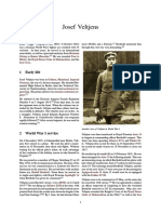 WW1 Ace - Josef Veltjens
