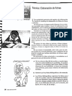 Elaboracion de Fichas