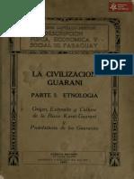 La Civilización Guaraní del Dr. Moises Santiago Bertoni Parte 1 Etnología, Puerto Bertoni-Paraguay año 1922