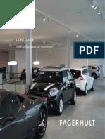 Fagerhult Lighting Guide Car Showrooms