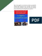 El Próximo Viernes Día 14 de Agosto a Las 10 de La Noche La Compañía de Teatro LA CORROPLA Presenta en El Auditorio de San Clemente Su Obra