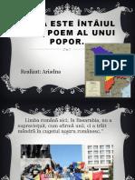Limba Este Întâiul Mare Poem Al Unui Popor.