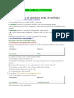 Condition vs Hypothèse (1)
