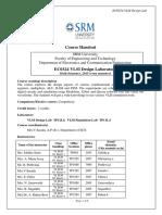 Ec0324 Vlsi Design Laboratory