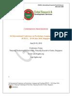 Singapore Icplt Proceedings