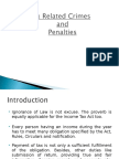 29_Tax Related Crimes and Penalties