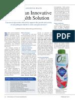 Stevia as an Innovative Oral Health Solution