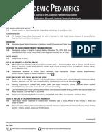 Table of contents - Academics of pediatrics