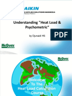 Heat Load Calculation Psychometric