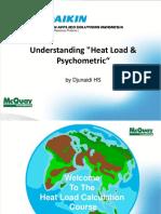 Heat Load Calculation Psychometric