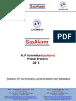ALVI AUTOMATION(GasAlarm) Product Brochure 2016