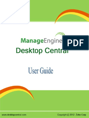 ManageEngine Desktop Central | Active Directory | Remote