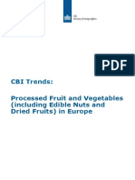 Trends Europe Proccessed Fruit Vegetables Edible Nuts Dried Fruits 2015