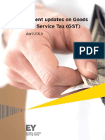 Ey Recent Updates on Goods and Services Tax Gst