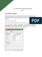 Time History Method