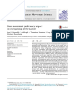 Movement Proficiency and Exergaming Reynolds Et Al 2014
