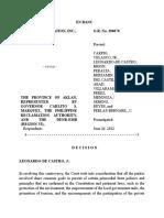 Boracay Foundation, Inc. v. Province of Aklan, Et Al,