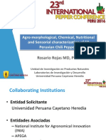 Caracterización de 50 Ajíes Nativos Peruanos