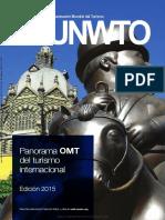 Panorama OMT Del Turismo Internacional Edición 2015