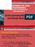 Hydraulics(Rough Boundary)
