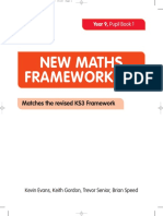 New Maths Frameworking Year 9 Pupil Book 1 332a6