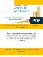 Variable Proyecto Minero
