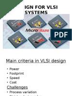 Design for Vlsi Systems