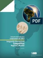 Integracion Internacional Competiviva Regional y Mundial