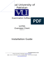 VUTES Overseas V2.0 Installation Guide