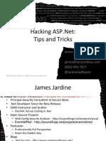 Hacking Net Applications_PenTestSummit - James Jardine