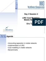 Day 4 Session 4 LRIC Costing in Mobile