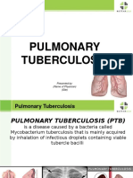 Pulmonary Tuberculosis 2016