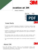 Innovations at 3M Presentation