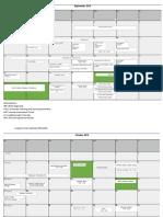 Academic Quality Calendar