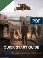 Era Survival - Quickstart Guide
