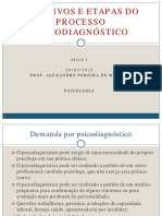Objetivos e Etapas Do Psicodiagnostico