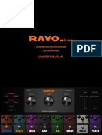 RAVO GUITAR FX MANUAL