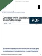 Como Legalizar Windows 1...7 y 8