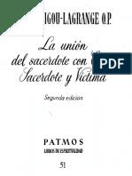 103052543 La Union Del Sacerdote Con Cristo Sacerdote y Victima Garrigou Lagrange