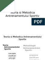 Teoria Si Metodica Antrenamentului Sportiv