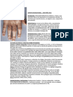 Artritis Reumatoide Peña 2012