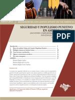 Seguridad y Populismo Punitivo en America Latina