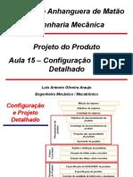 Aula 15 - Configuração e Projeto Detalhado OK