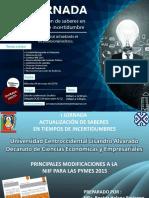 Principales Modificaciones Niif Para Las Pymes Ucla Mayo 2016