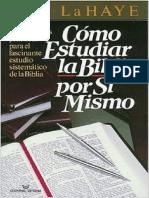 Como Estudiar La Biblia Por Si Mismo - Tim LaHaye