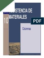 Columnas, mecanica de materiales