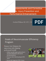 Fisio vs EFisica Na Prevenção Sports_Symposium_Williams_presentation