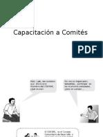 Capacitación a Comités